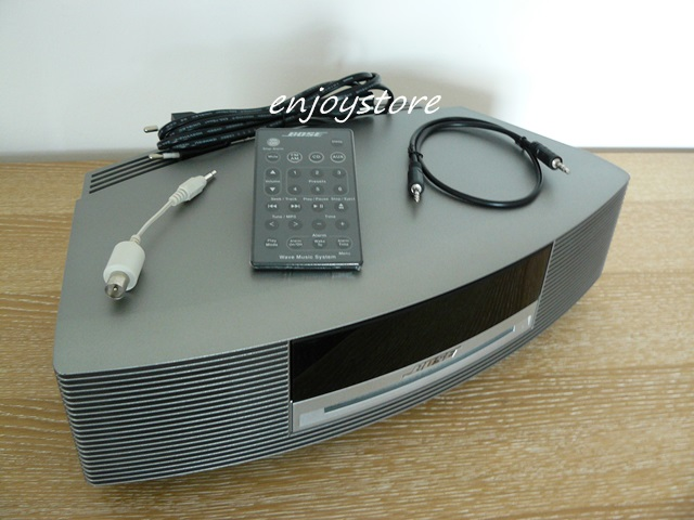 gepflegtes bose wave music system ii titanium vom h ndler ebay. Black Bedroom Furniture Sets. Home Design Ideas