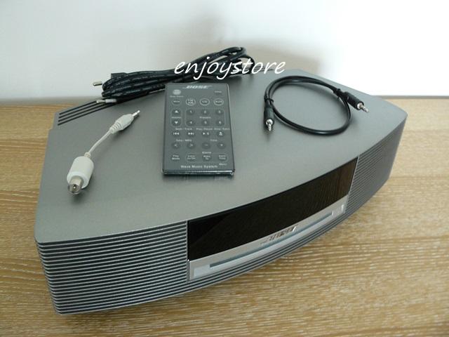 gepflegtes bose wave music system ii titanium vom. Black Bedroom Furniture Sets. Home Design Ideas